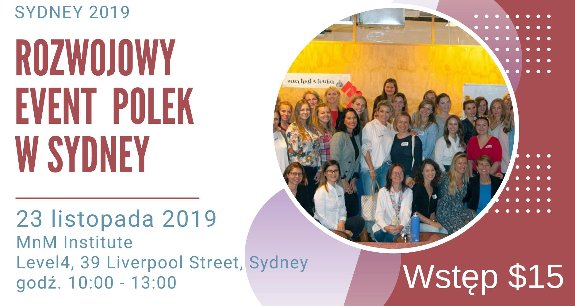 Aga Szczesniak workshope for women in Sydney